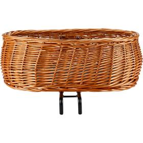 Basil Pluto Dog Bicycle Basket, brązowy